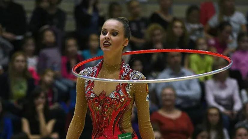 Израильтянка Линой Ашрам завоевала «серебро» наЧемпионате мира похудожественной гимнастике