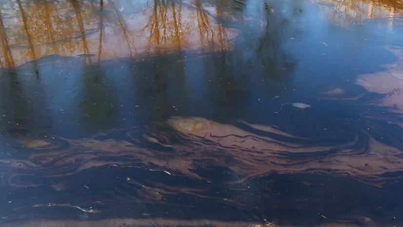 В Кировской области оштрафовали предприятие за сброс сточных вод в ручей