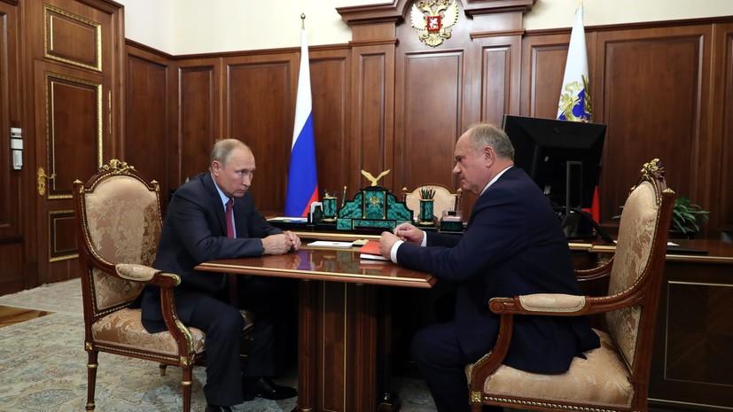 Путин прокомментировал предложение о «ремонте выборной системы»