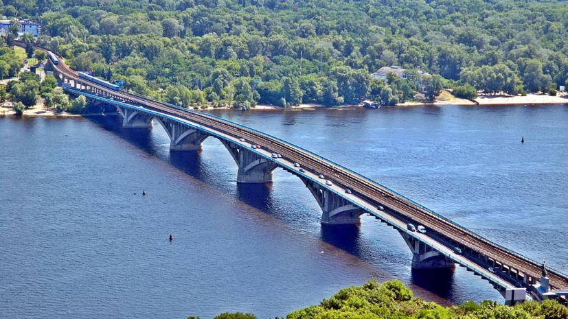 СМИ узнали подробности «минирования» моста в Киеве