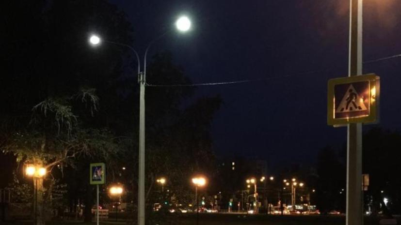 В Петербурге установили первые «умные» фонари