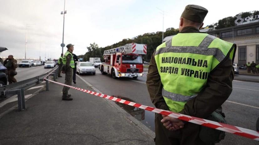 Угрожавший взорвать мост в Киеве задержан