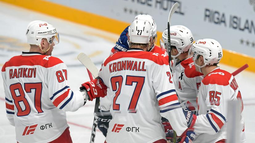 «Локомотив» одержал победу над рижским «Динамо» в матче регулярного чемпионата КХЛ