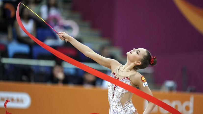 Сборная России победила в командном турнире на ЧМ по художественной гимнастике