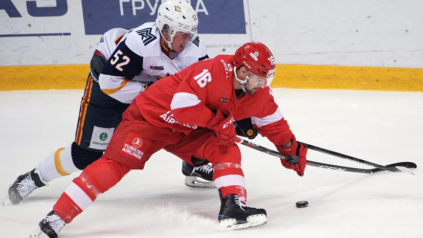 «Металлург» обыграл «Спартак» в матче регулярного чемпионата КХЛ