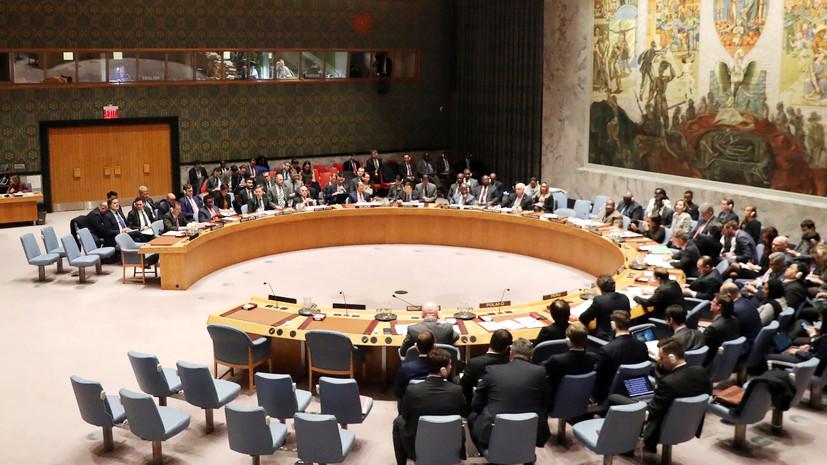 СБ ООН отклонил проект резолюции России и Китая по Идлибу