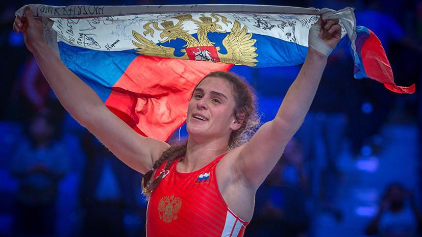 Исторический успех: женская сборная России по борьбе впервые выиграла два золота на чемпионате мира