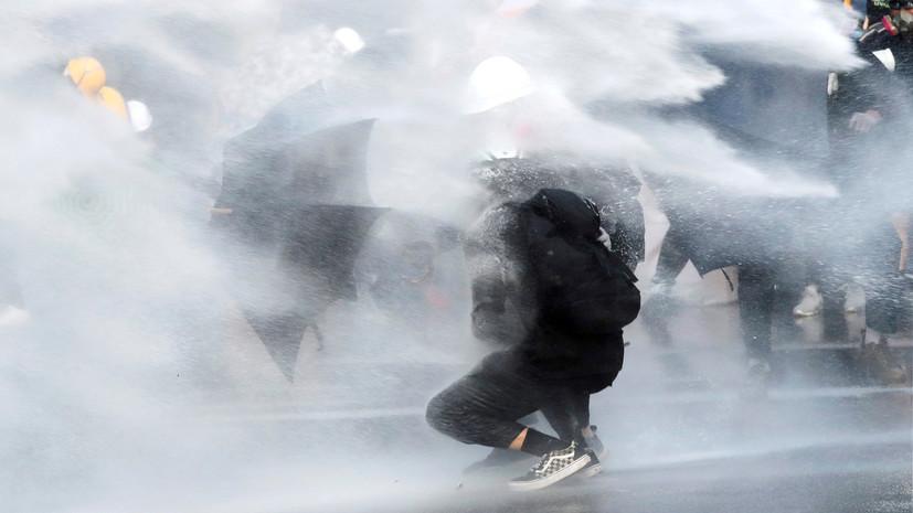 Россиян предупредили о проблемах с транспортом в Гонконге