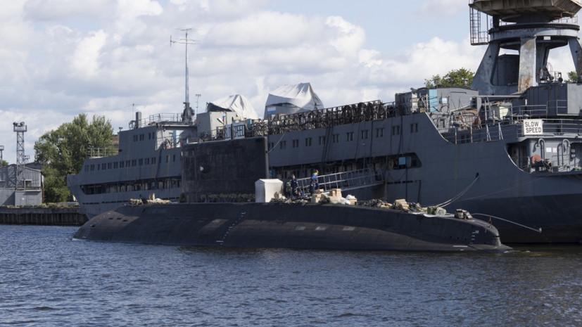Завершены заводские испытания подлодки «Петропавловск-Камчатский»