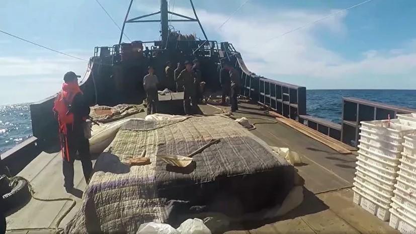 Задержанные рыбаки из КНДР будут находиться на судах в порту Находки