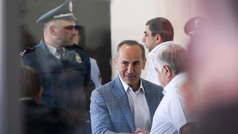 Суд оставил экс-президента Армении Кочаряна под стражей