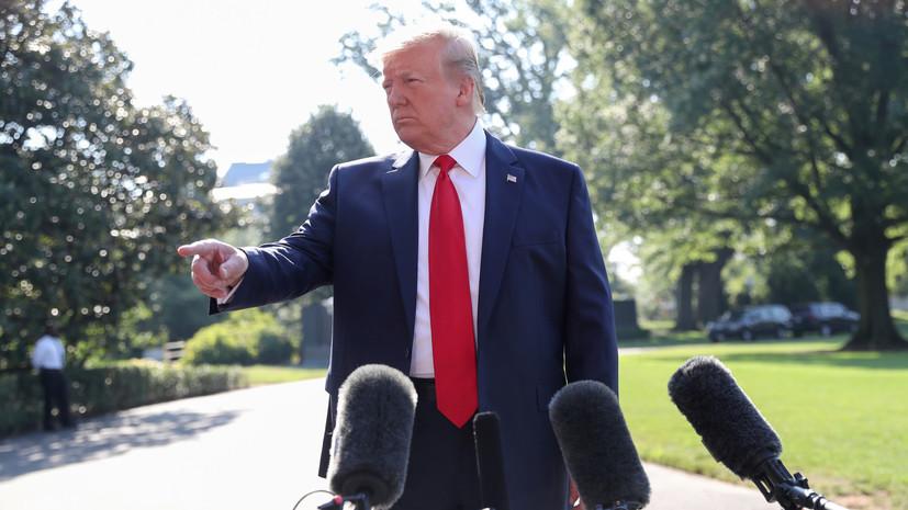 Эксперт объяснил слова Трампа о возможности удара по объектам в Иране