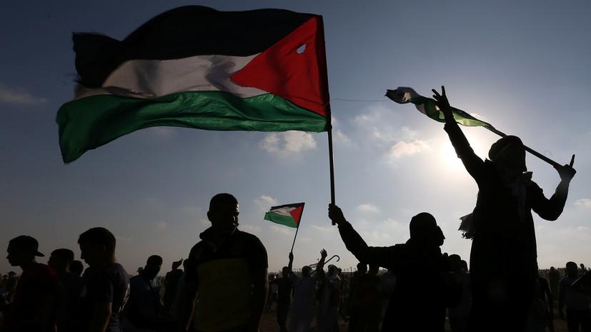 Более 70 палестинцев пострадали в столкновениях с военными Израиля