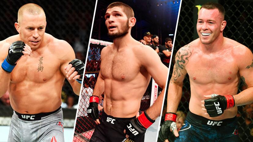 Бой Нурмагомедова с Сен-Пьером, споры Уайта с Ковингтоном и критика со стороны Порье: что обсуждают в мире UFC