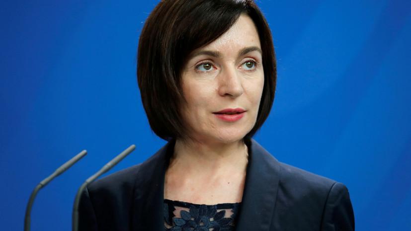 Премьер Молдавии назвала евроинтеграцию приоритетом страны
