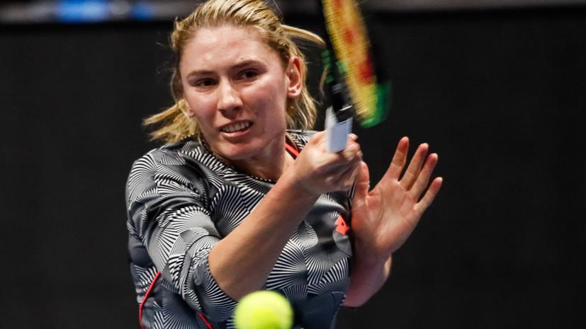 Александрова уступила Линетт в полуфинале турнира WTA в Сеуле