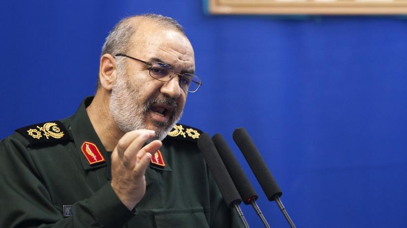 КСИР: при нападении на Иран война случится на территории агрессора