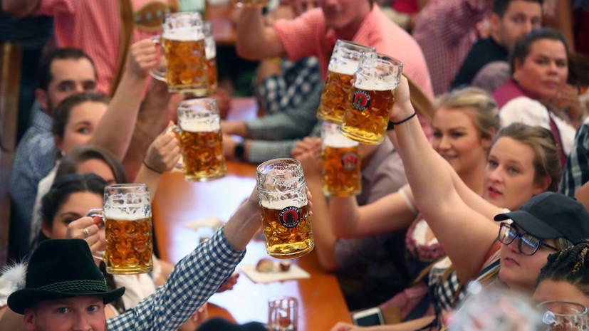 В Мюнхене открылся крупнейший в мире фестиваль пива «Октоберфест»