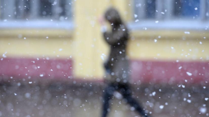 В МЧС предупредили о мокром снеге в Москве 22 сентября