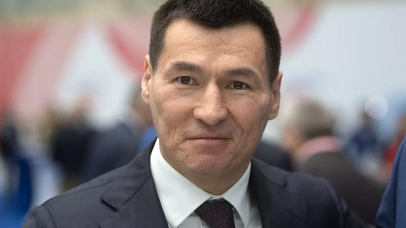 Хасиков официально стал главой Калмыкии