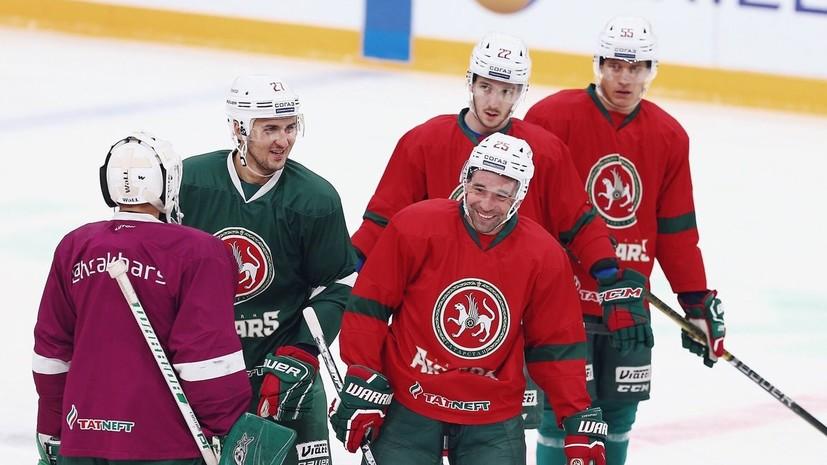 «Металлург» уступил «Ак Барсу» в матче КХЛ