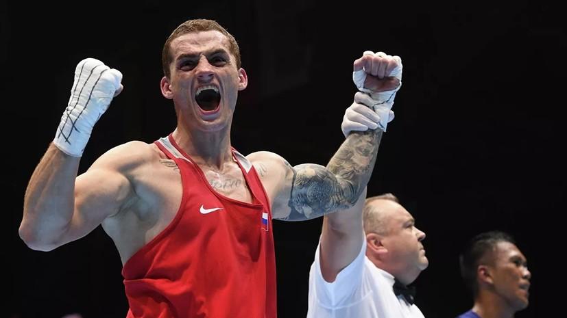 Бакши стал чемпионом мира по боксу в весе до 75 кг