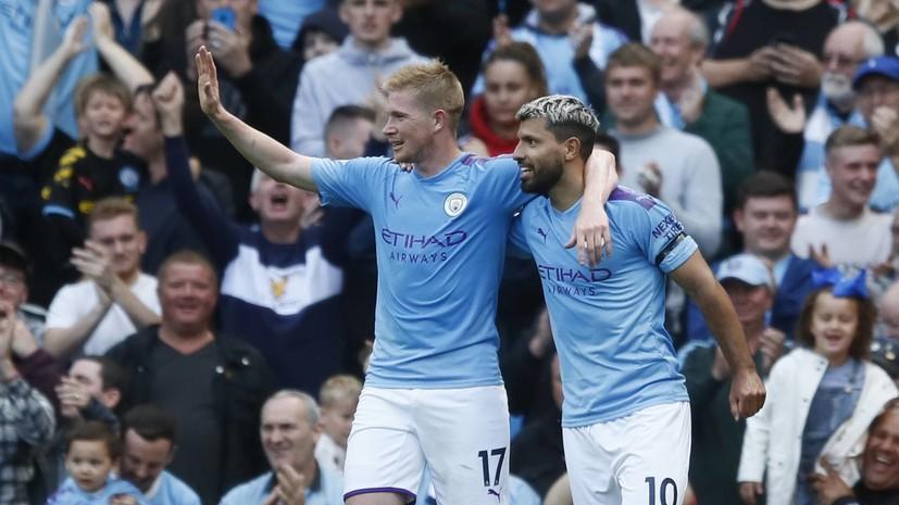 «Манчестер Сити» одержал свою самую крупную победу за историю выступлений в АПЛ