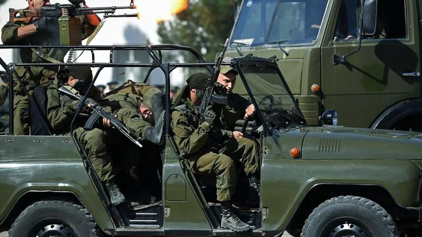 В ЦВО заявили о начале проверки после нападения на российских военных в Таджикистане