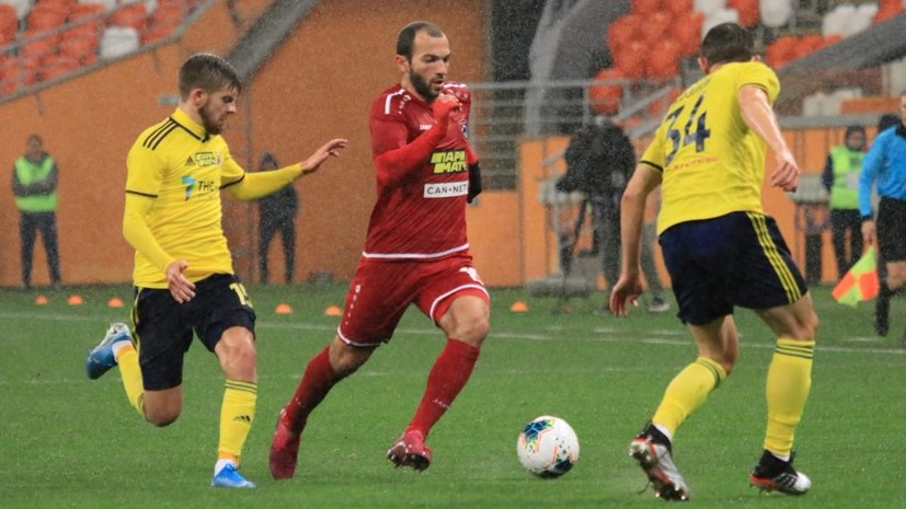 Два гола Мелкадзе принесли «Тамбову» победу над «Ростовом» в десятом туре РПЛ