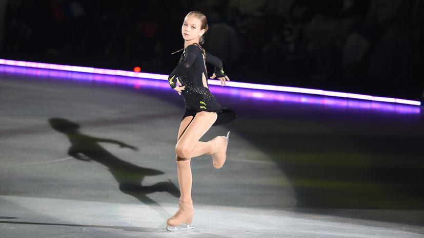 Тарасова прокомментировала мировые рекорды фигуристки Трусовой