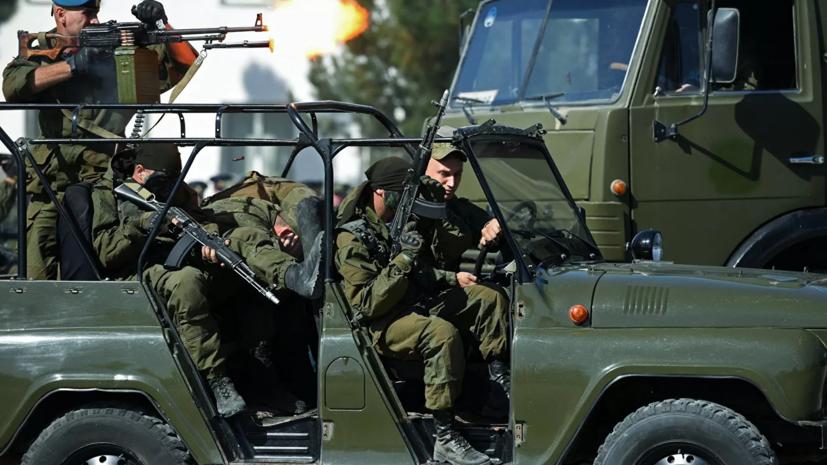 В Таджикистане задержан напавший на российских военных мужчина