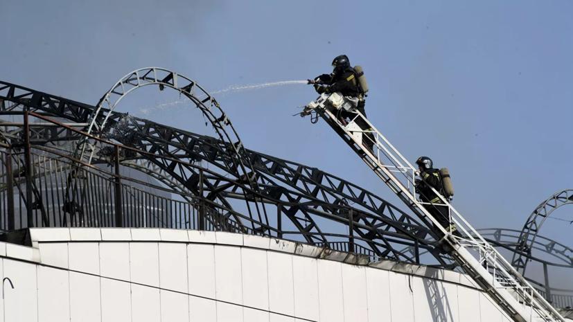 Эксперты проверили качество воздуха на месте пожара во Владивостоке