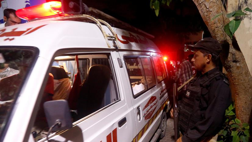 В Пакистане в аварии с участием автобуса погибли 25 человек