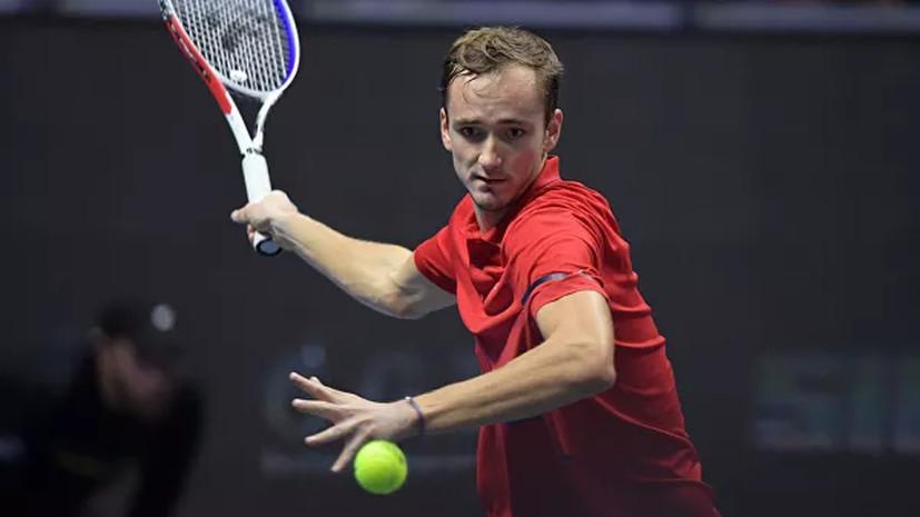 Медведев обыграл Чорича истал победителем турнира в северной столице