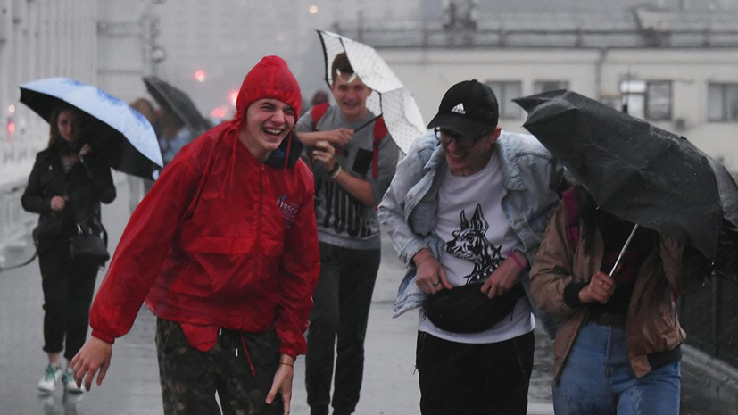 В Московском регионе объявлен «жёлтый» уровень погодной опасности