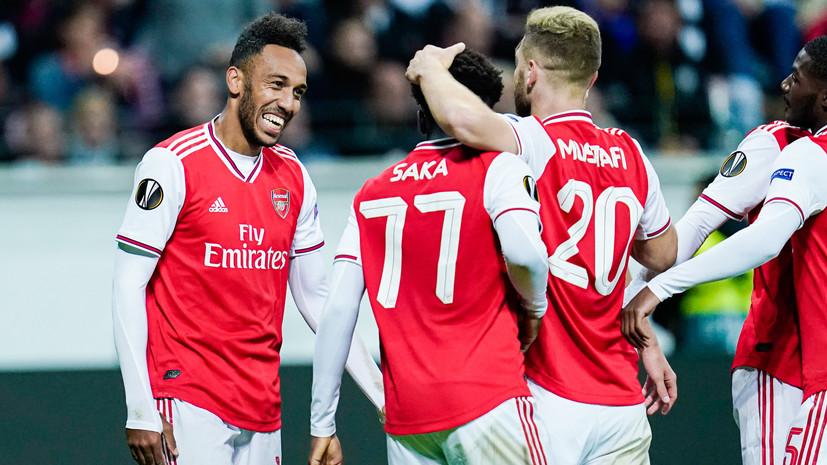 «Арсенал» в меньшинстве вырвал победу в матче АПЛ с «Астон Виллой»
