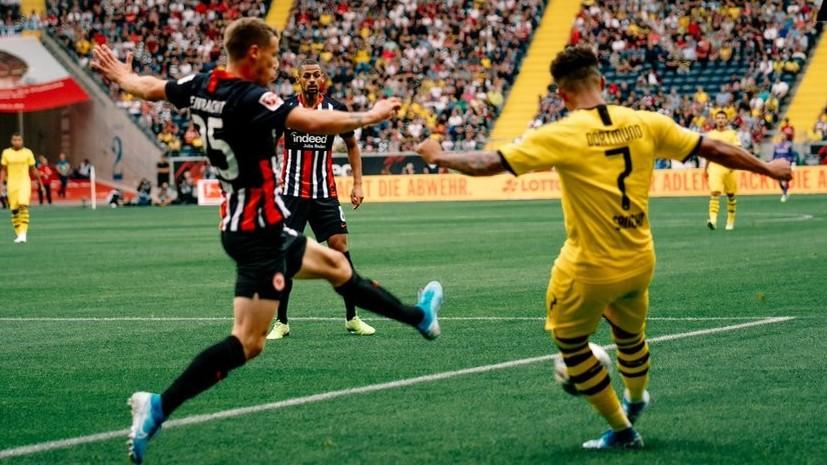 «Боруссия» из-за автогола упустила победу в матче Бундеслиги с «Айнтрахтом»