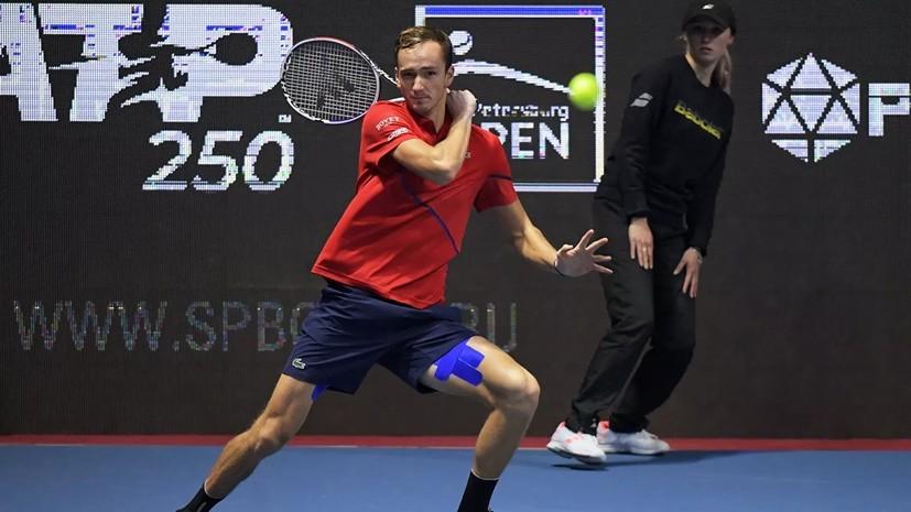 Статус турнира ATP в Санкт-Петербурге в будущем может быть повышен