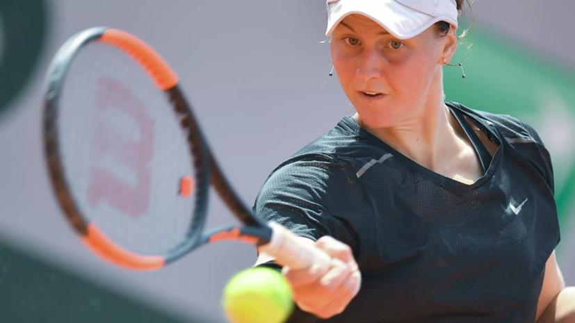 Самсонова проиграла ван Эйтванк на турнире WTA в Ташкенте