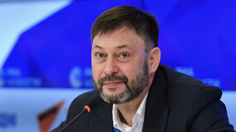 Вышинский будет вести программу про Украину на телевидении