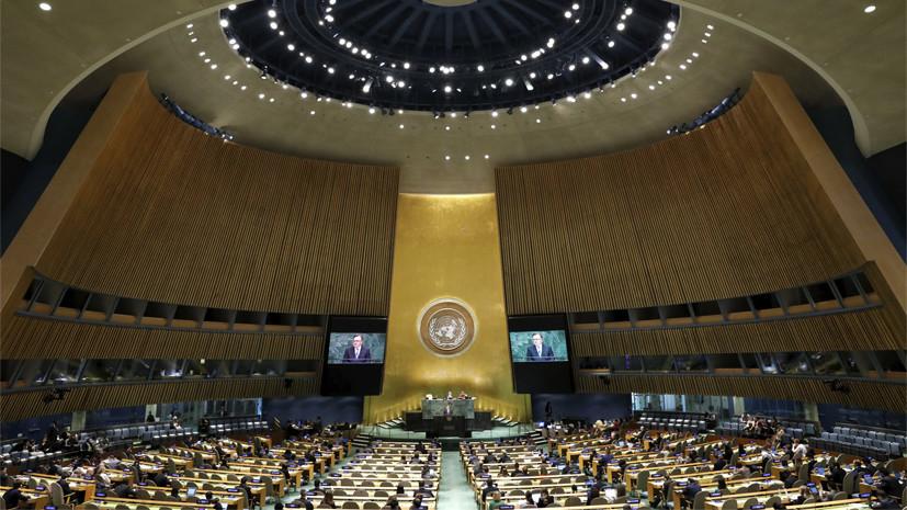 В Кремле не исключили жёсткой реакции на отказ США в визах на ГА ООН