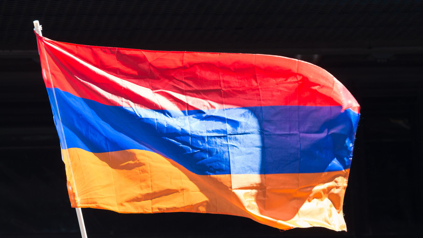 В Армении объявлено условное военное положение