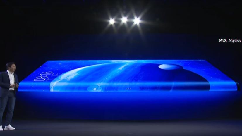 Xiaomi представила новый смартфон Mi MIX Alpha