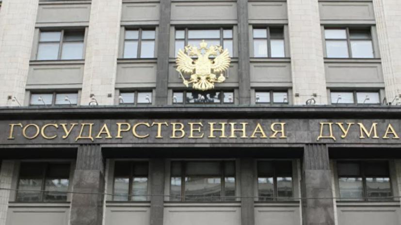 В Госдуме оценили слова украинского экс-министра о «плохой России»