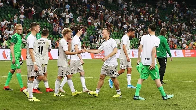 «Рубин» крупно уступил «Химкам» и вылетел из Кубка России по футболу