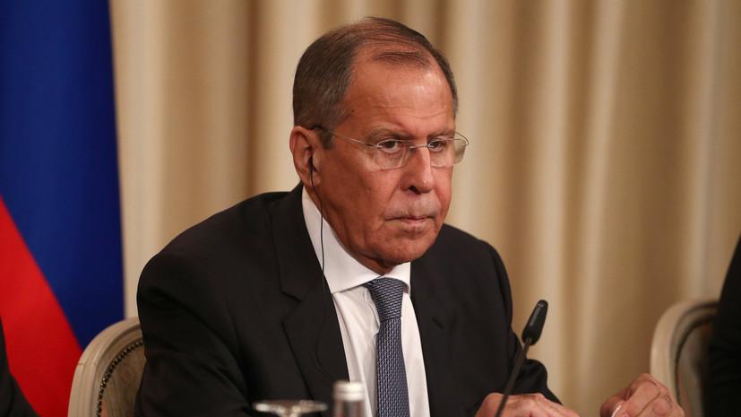 Лавров рассказал о последствиях возможного вступления Грузии в НАТО