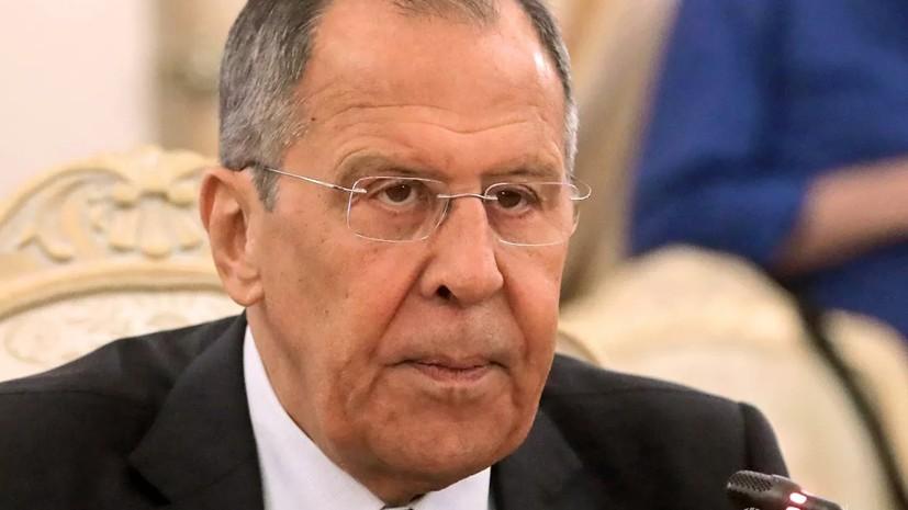Лавров провёл встречу с главой МИД Грузии