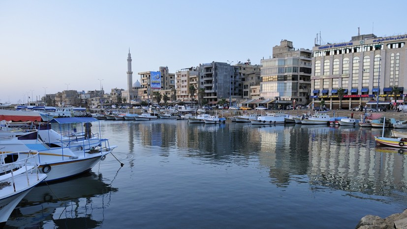 В Сирии начнёт работу судоремонтная мастерская