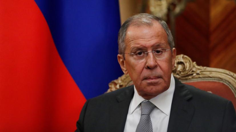 Лавров рассказал о поставках российского оружия в ЦАР
