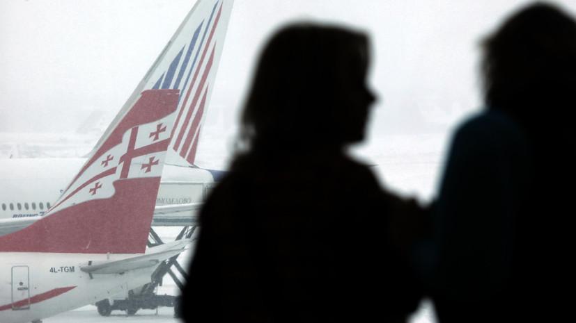 В Кремле оценили возможность возобновления авиасообщения с Грузией